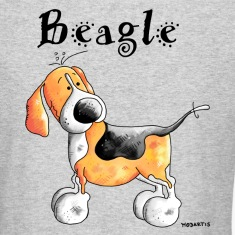 Happy Beagle - Dog - Dogs Long Sleeve Shirts