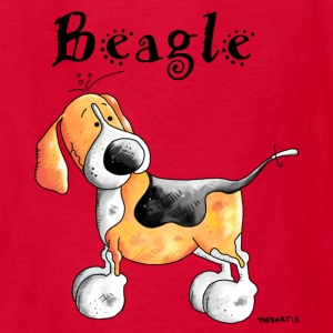 Happy Beagle - Dog - Dogs Kids' Shirts - Kids' T-Shirt