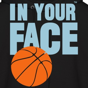 IN YOUR FACE BASKETBALL - Men's Hoodie