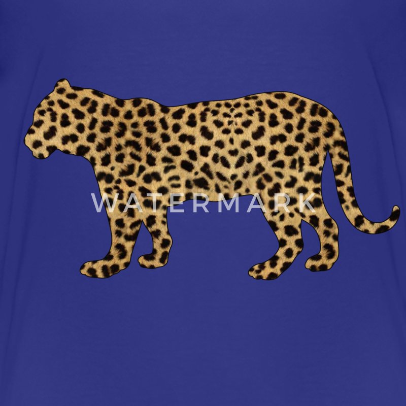 Kids Tiger with Cheetah print T-shirt - Kids' Premium T-Shirt