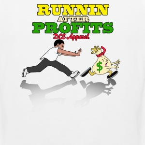 Runnin After Profits Tank Tops - Men's Premium Tank