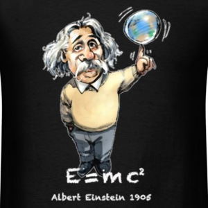 Albert E=MC 2 T-Shirts - Men's T-Shirt