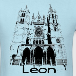 Leon cathedral  Camino Men's Tee - Men's T-Shirt