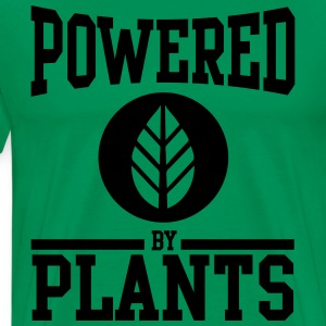 Powered by Plants T-Shirts - Men's Premium T-Shirt