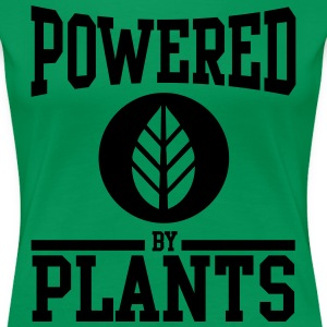 Powered by Plants Women's T-Shirts - Women's Premium T-Shirt
