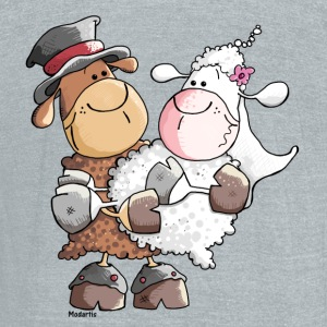 Woolly bride and groom T-Shirts - Unisex Tri-Blend T-Shirt