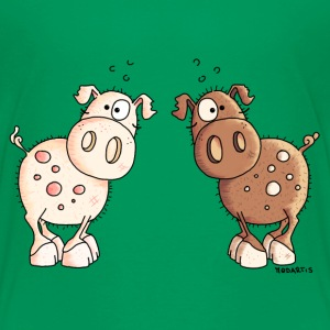 Two Cute Pigs - Pig - Piggy Baby & Toddler Shirts - Toddler Premium T-Shirt