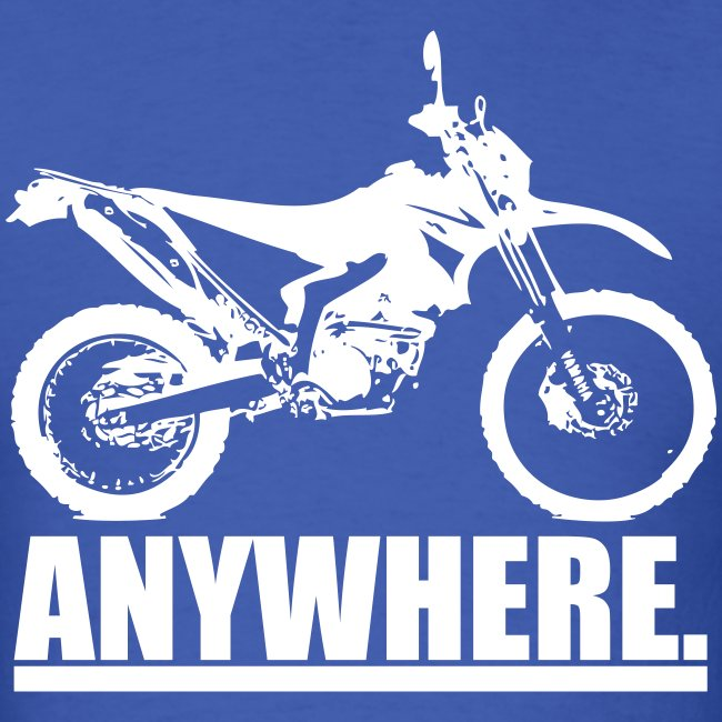 "Original ""ANYWHERE"" - White Logo"