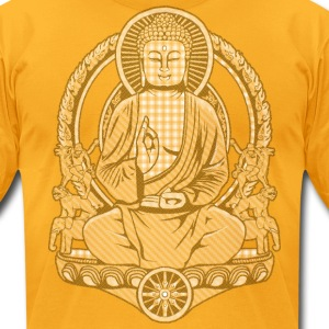 Gautama Buddha Fade T-Shirts - Men's T-Shirt by American Apparel