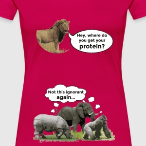 Proooteins... - Women's Premium T-Shirt