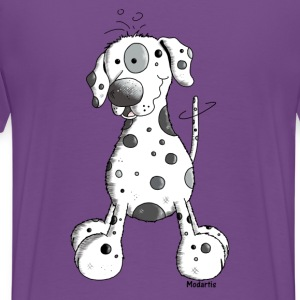 Droll Dalmatian - Dog - Dogs T-Shirts - Men's Premium T-Shirt