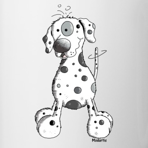 Droll Dalmatian - Dog - Dogs Bottles & Mugs - Contrast Coffee Mug