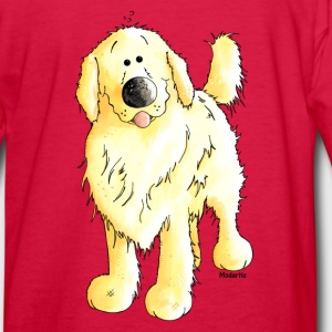Funny Golden Retriever - Dog Kids' Shirts - Kids' Long Sleeve T-Shirt