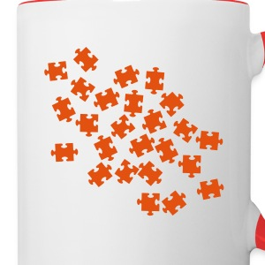 Jigsaw puzzle Bottles & Mugs - Contrast Coffee Mug