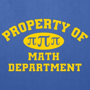 Property Of Math Department - Tote Bag