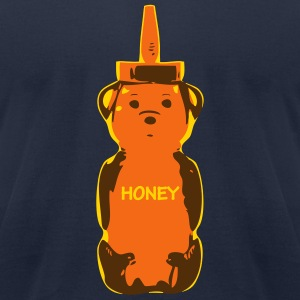 honey bear 3 - Men's T-Shirt by American Apparel