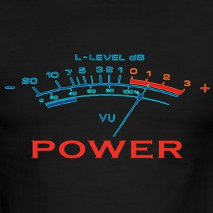 music power T-Shirts - Men's Ringer T-Shirt