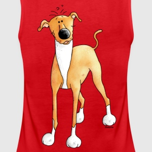 Funny Greyhound - Dog - Dogs Tanks - Women's Premium Tank Top