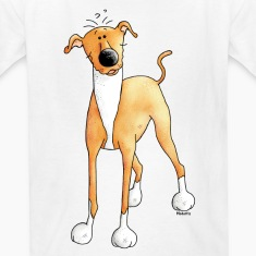 Funny Greyhound - Dog - Dogs Kids' Shirts