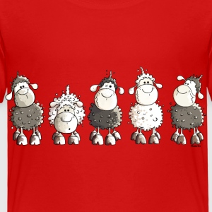 Funny Sheep  Baby & Toddler Shirts - Toddler Premium T-Shirt