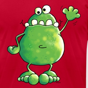 Naughty Frog - Frogs T-Shirts - Men's T-Shirt by American Apparel