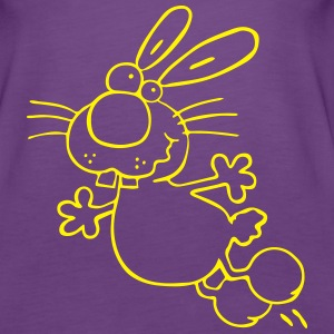 Crazy Rabbit - Bunnies Tanks - Women's Premium Tank Top