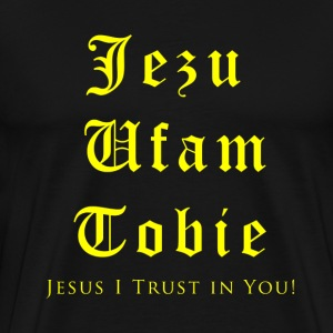 Jesus I trust in You - Men's Premium T-Shirt