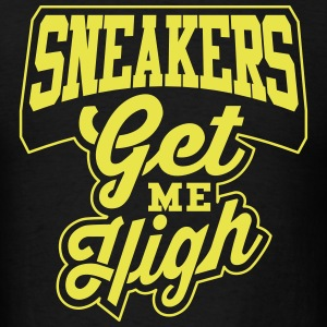 Sneakers Get Me High Thunder - Men's T-Shirt