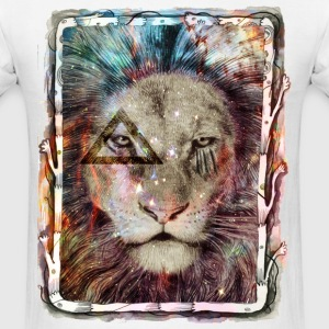 Galaxy King Lion T-Shirts - Men's T-Shirt