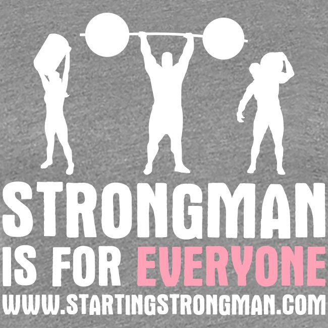 Strongman is for EVERYONE