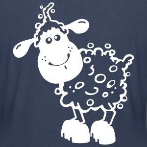 Little Sheep - Farm  Women's T-Shirts - Women's Premium T-Shirt