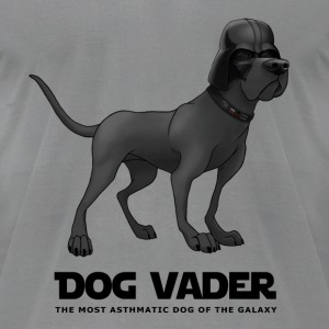 Dog Vader - Men's T-Shirt by American Apparel