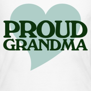Proud Grandma - Women's Long Sleeve Jersey T-Shirt