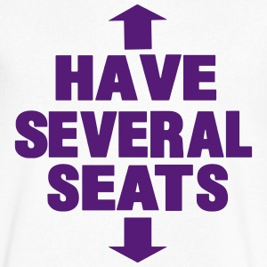 HAVE SEVERAL SEATS T-Shirts - Men's V-Neck T-Shirt by Canvas