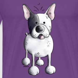 Funny French Bulldog - Dog - Dogs T-Shirts - Men's Premium T-Shirt