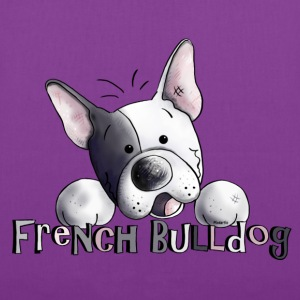 Sweet French Bulldog - Dog - Dogs Bags & backpacks - Tote Bag