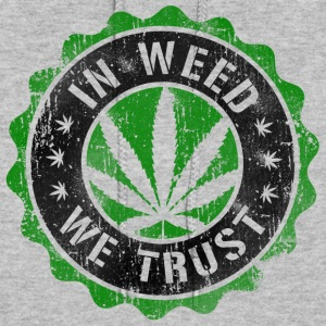 In Weed We Trust stamp Hoodies - Women's Hoodie