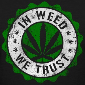 In Weed We Trust stamp Women's T-Shirts - Women's T-Shirt