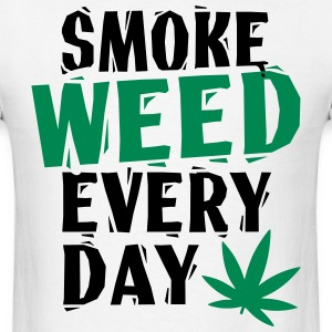 SmokeWeedEveryDay  LinoVe T-Shirts - Men's T-Shirt