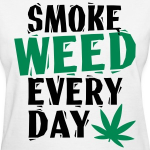 SmokeWeedEveryDay  LinoVe Women's T-Shirts - Women's T-Shirt