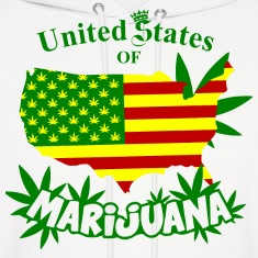 United States of MARIJUANA Hoodies