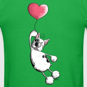 French Bulldog With Heart - Dog T-Shirts - Men's T-Shirt