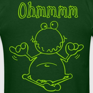 Ohmmm Frog- Meditation T-Shirts - Men's T-Shirt
