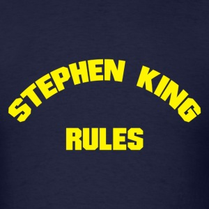 Stephen King Rules - Men's T-Shirt