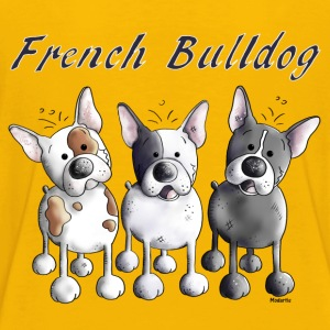 Three French Bulldogs - Bulldog - Dog Baby & Toddler Shirts - Toddler Premium T-Shirt