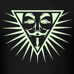 Anonymous NWO logo 1c T-Shirts - Men's T-Shirt