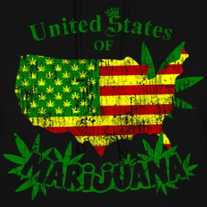 US of Marijuana  vintage Hoodies - Women's Hoodie