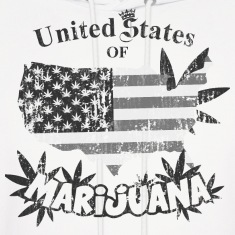 US of Marijuana  vintage nb Hoodies