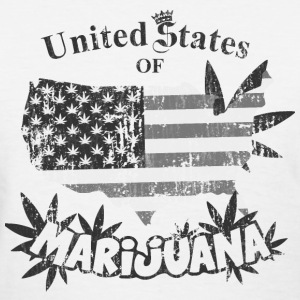 US of Marijuana  vintage nb Women's T-Shirts - Women's T-Shirt
