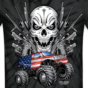 Monster Patriot Escalade T-Shirts - Unisex Tie Dye T-Shirt